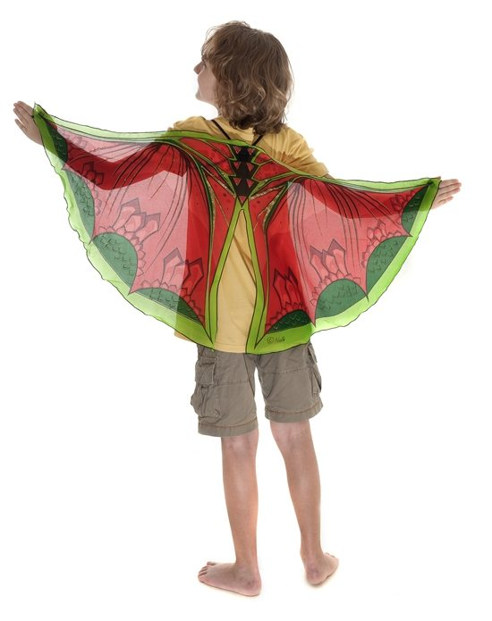 Dragon fabric wings jasabyn for Dragon fabric kids