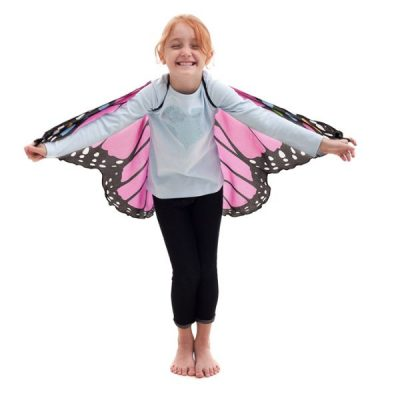 Butterfly Monarch Pink 2