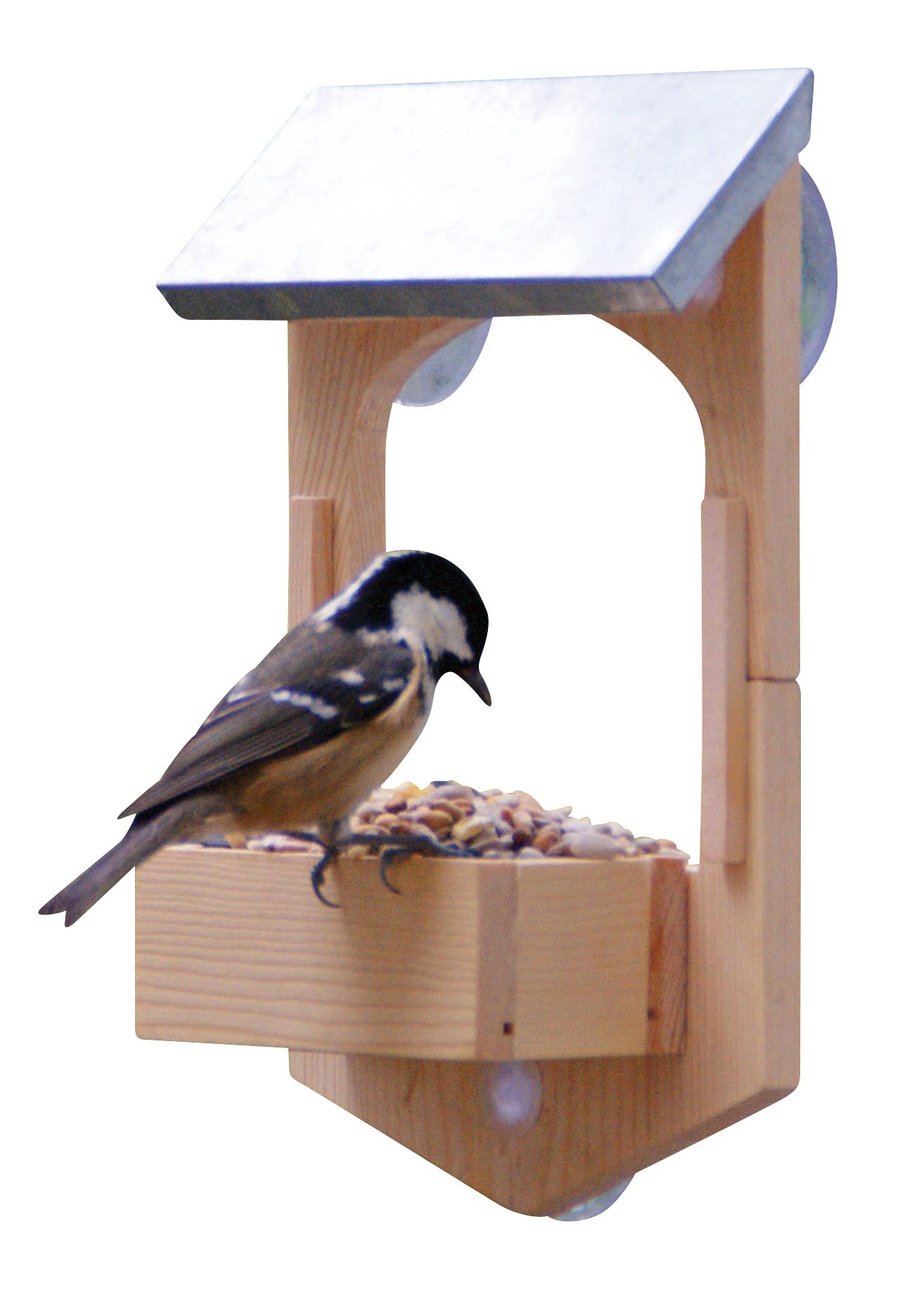 Bird feeder build your own gift in a tin jasabyn for Bird feed tin