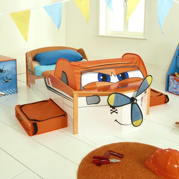 Planes Toddler Bed
