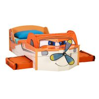 452PLN01 Planes Toddler Feature Bed (6)