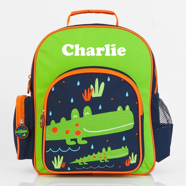Pre School Backpack Personalised Crocodile - Jasabyn 177b92ef5b89b
