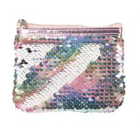 Reversible Sequin Coin Purse - Pearlescent 2
