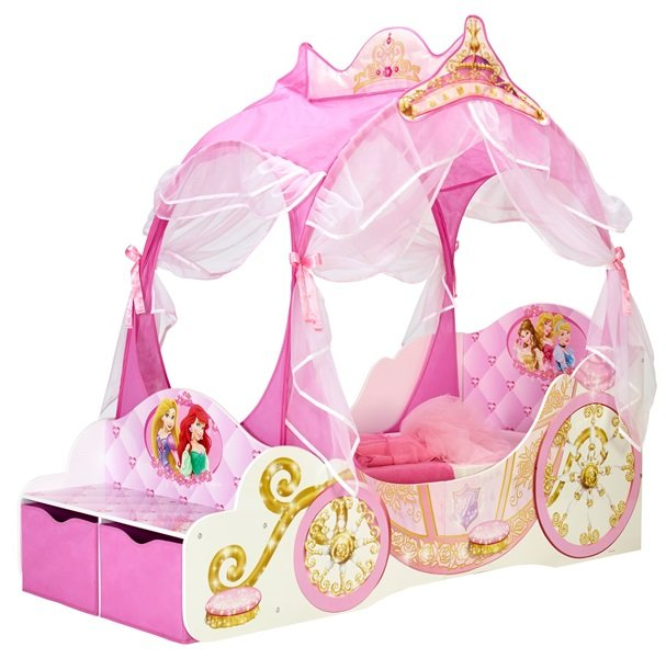Princess Carriage Toddler Bed Carriage Toddler Bed With Storage Drawer